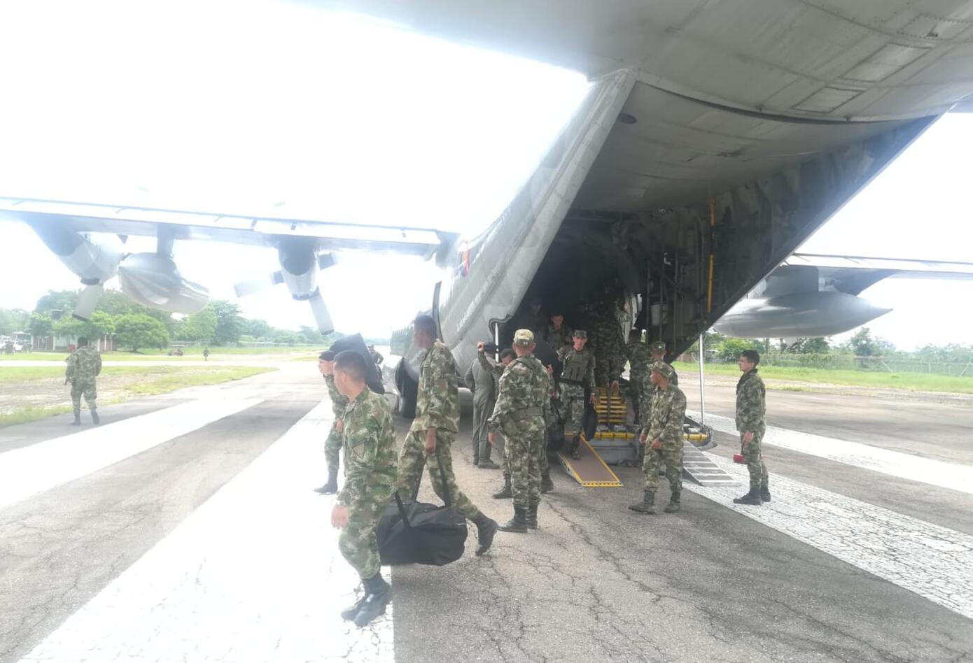 Soldados desplazados al Catatumbo