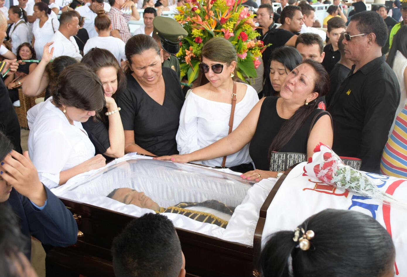 Funeral de Martín Elías