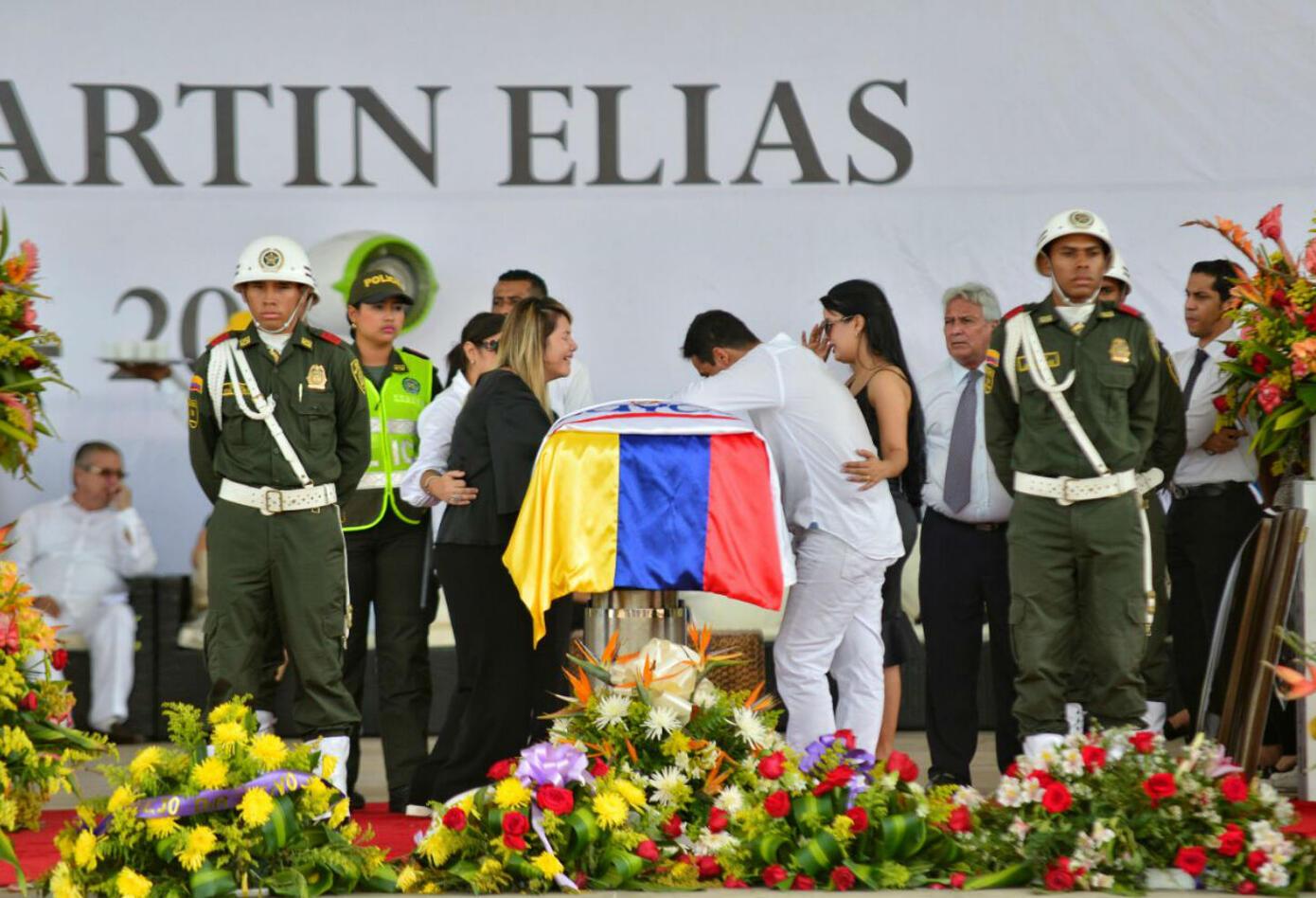 Entierro de Martín Elías