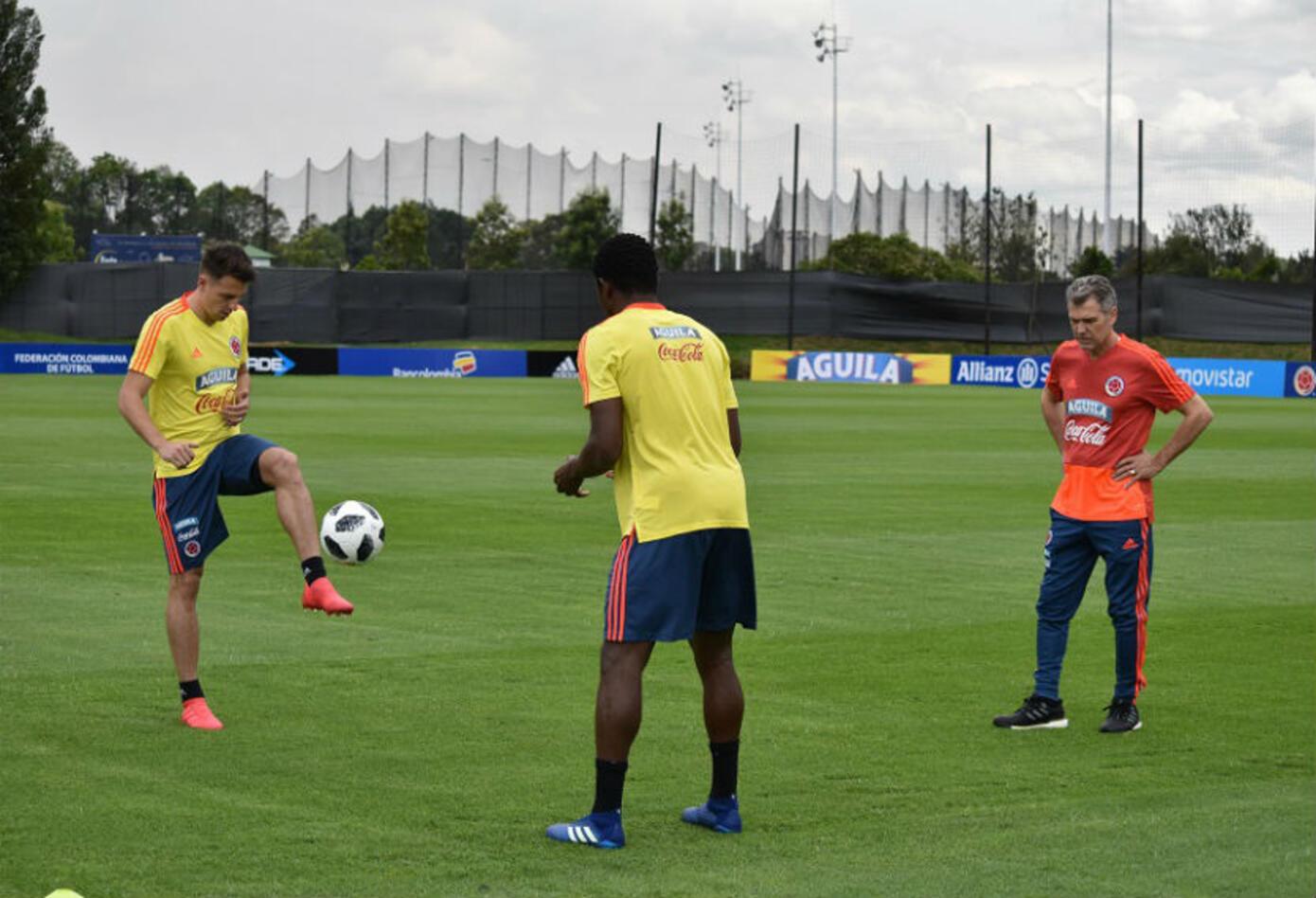 Entrenamientos de la Selección Colombia