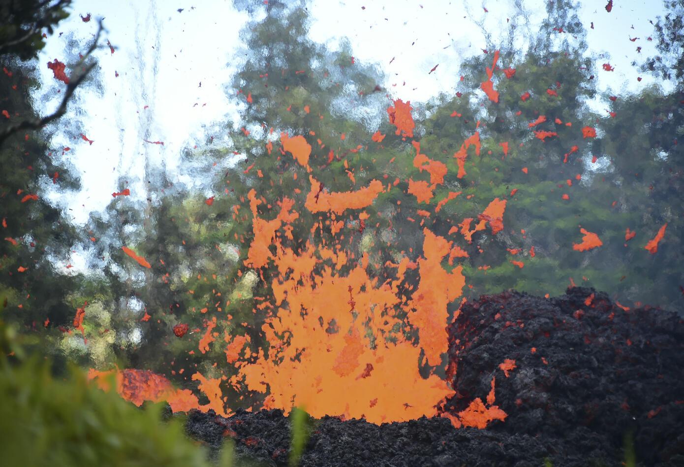 Volcán Hawái