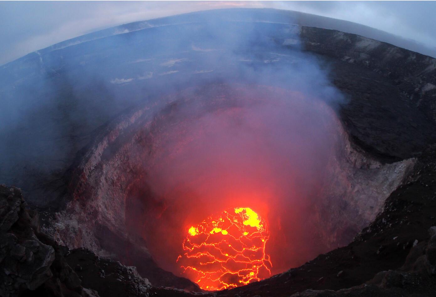 Erupción volcán Hawái