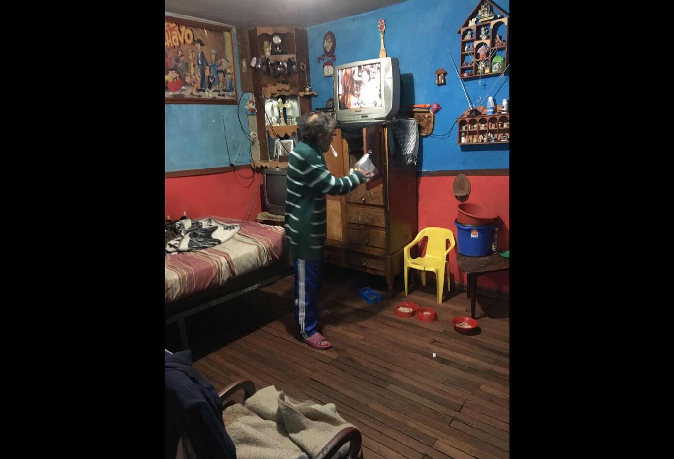 Único habitante de la calle del Bronx en Bogotá tras su intervención