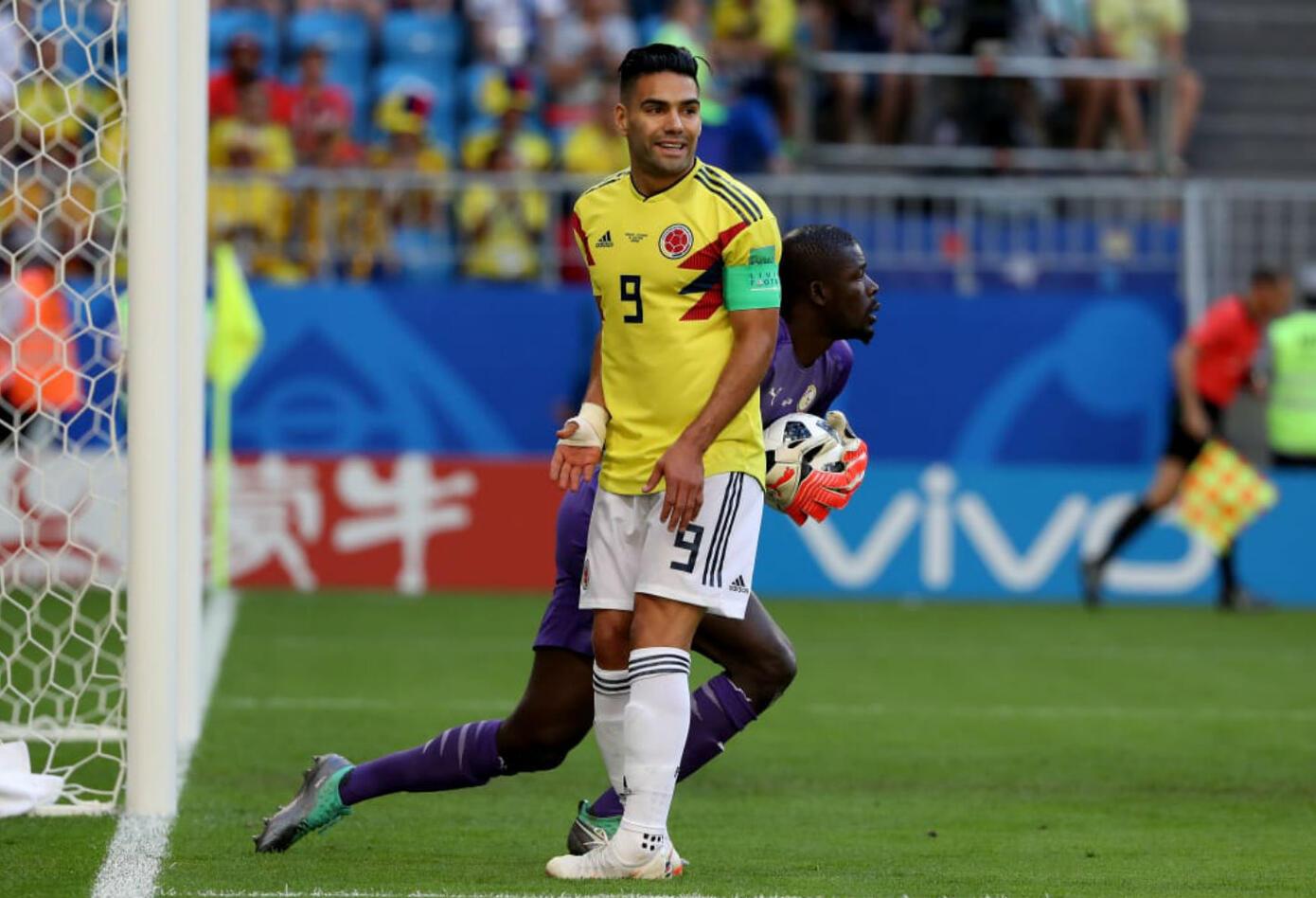 Falcao García partido Colombia vs Senegal