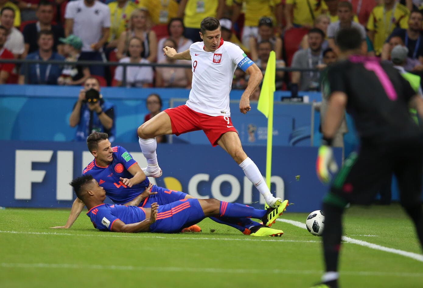 Partido Colombia vs Polonia.