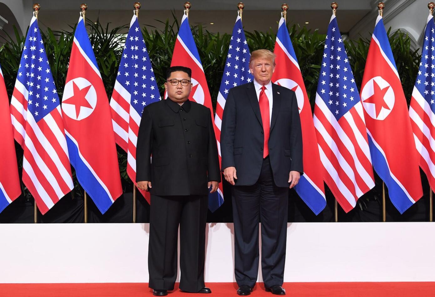Trum y Kim