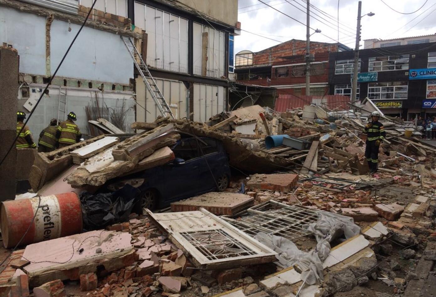 El accidente, ocurrido en el sur de Bogotá, no dejó lesionados