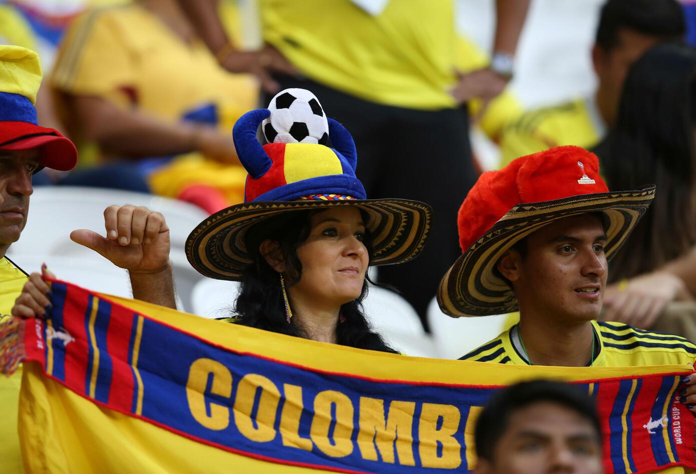 Los colombianos en el Kazán Arena
