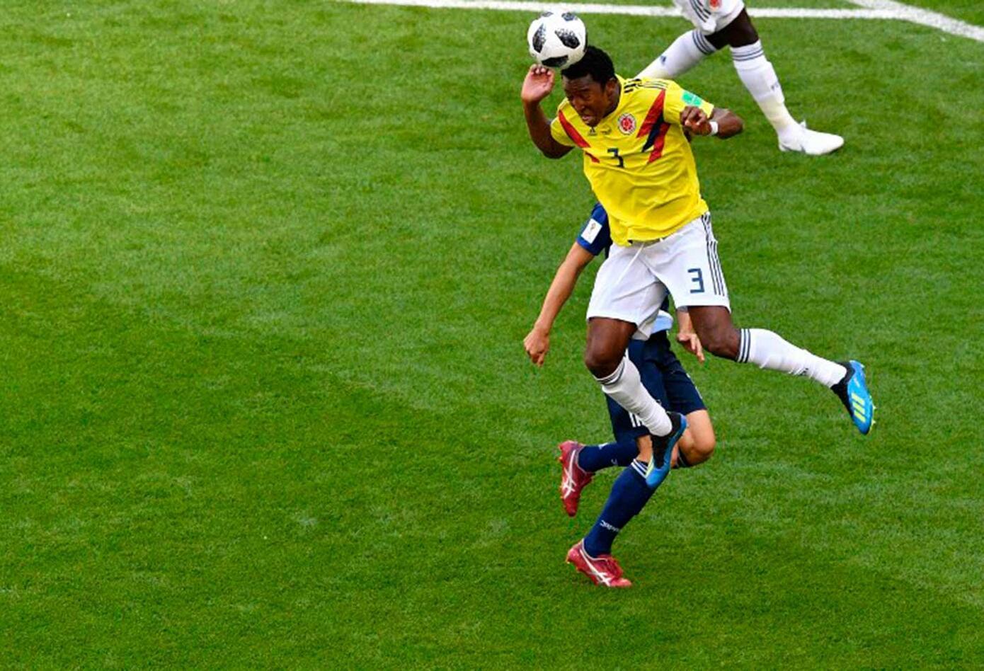Colombia enfrenta a Japón (Primer Tiempo)