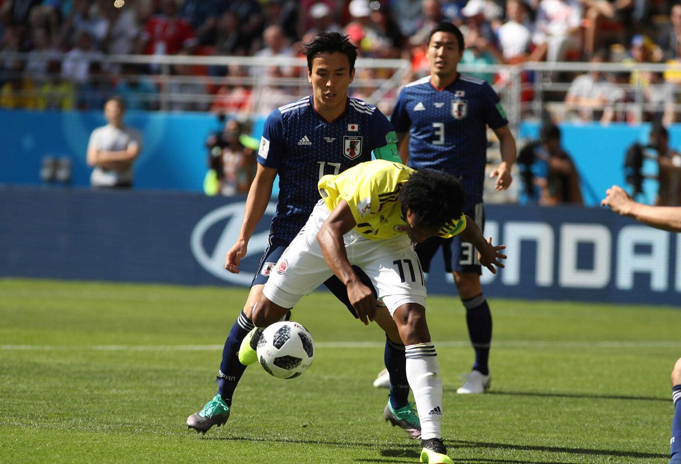 Colombia ante Japón en Saransk (Primer Tiempo)