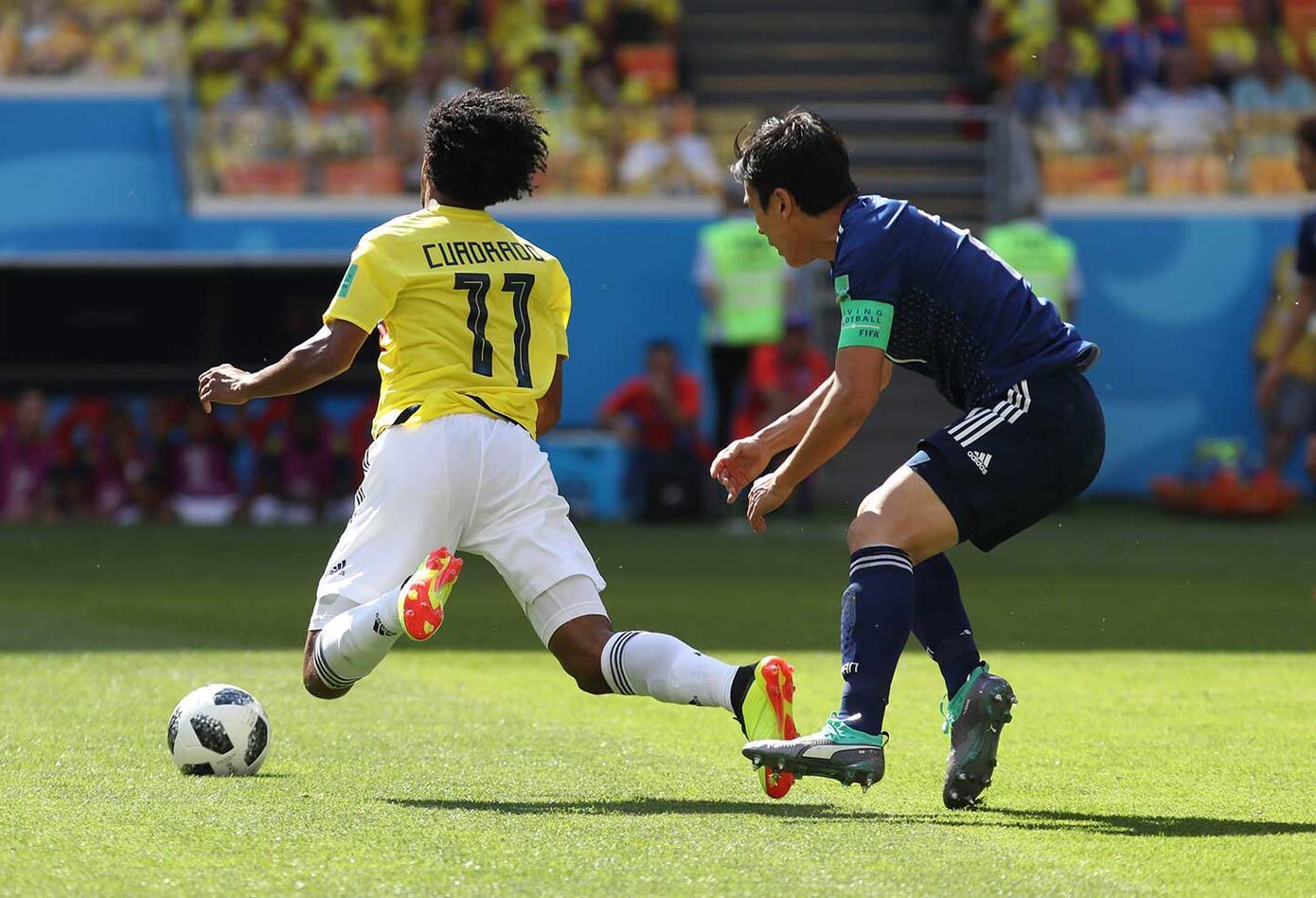 Cuadrado vs Japón