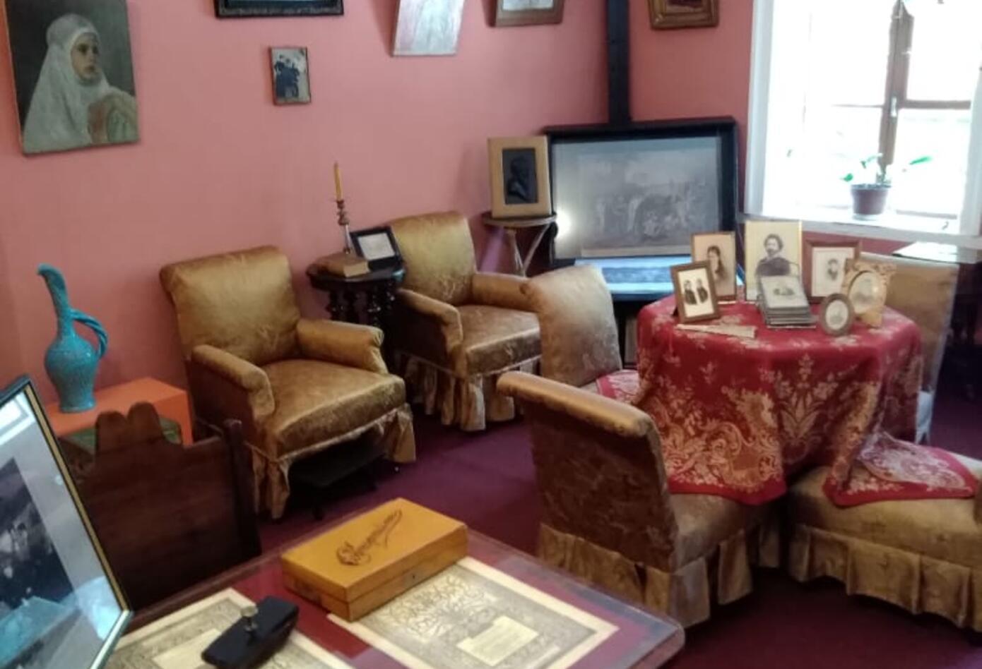 El cuarto de Tatiana, en la casa de León Tolstoi.