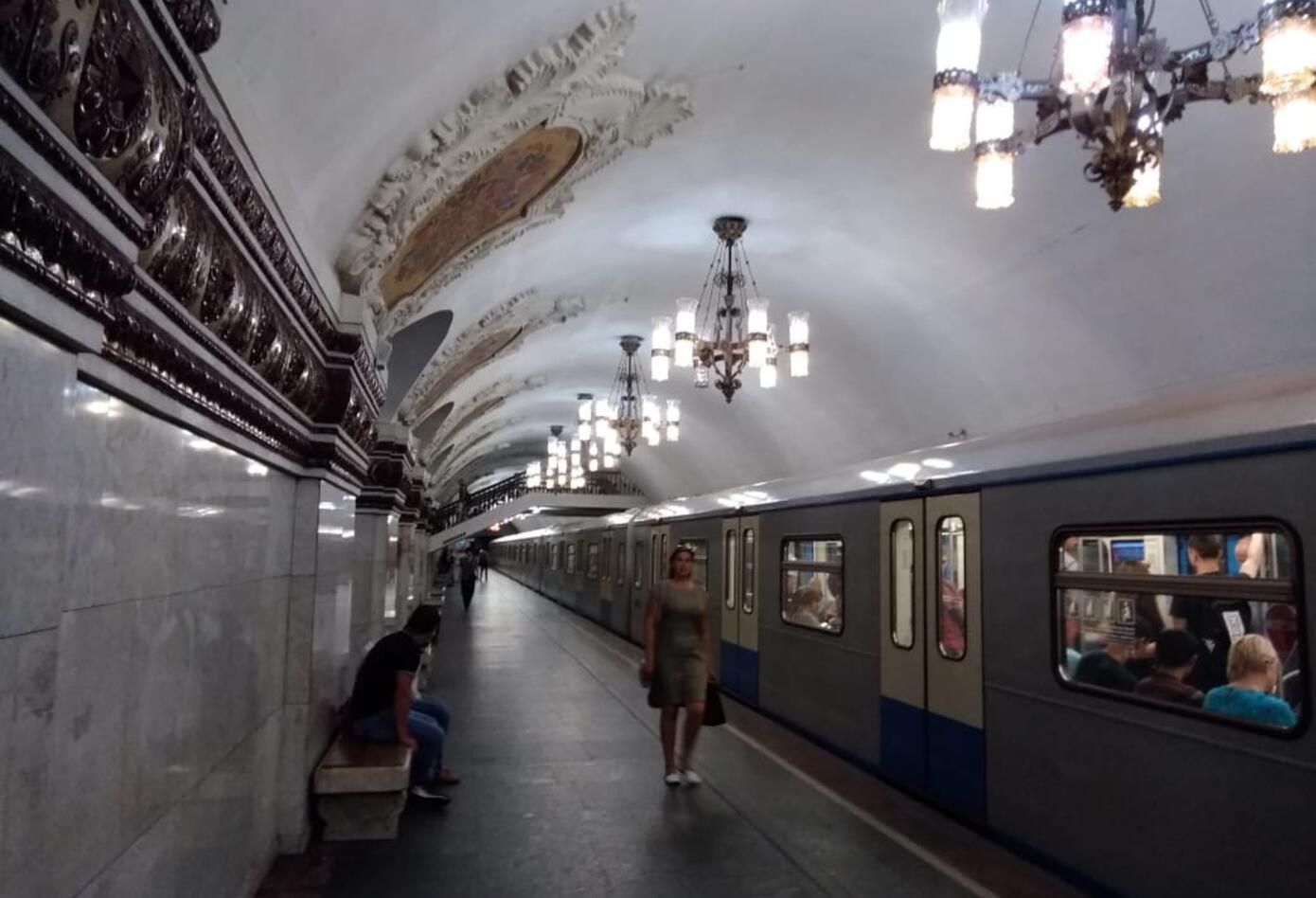 Las joyas del Metro de Moscú.