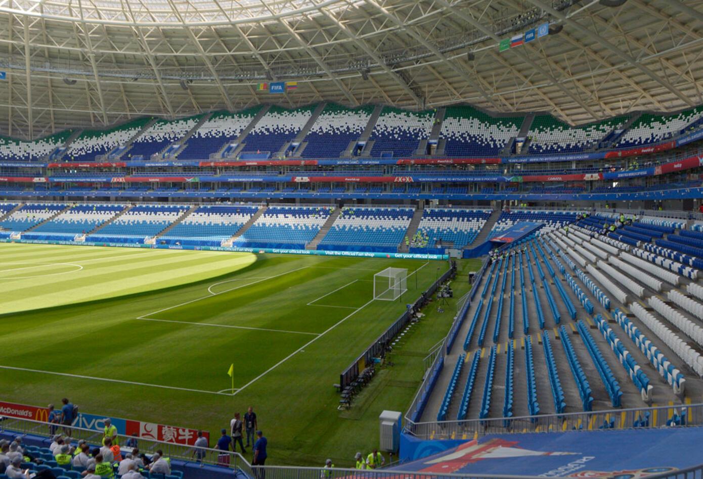 El Samara Arena, estadio de Colombia Vs Senegal en Rusia 2018