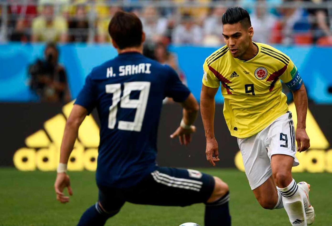 Falcao en el Colombia vs Japón