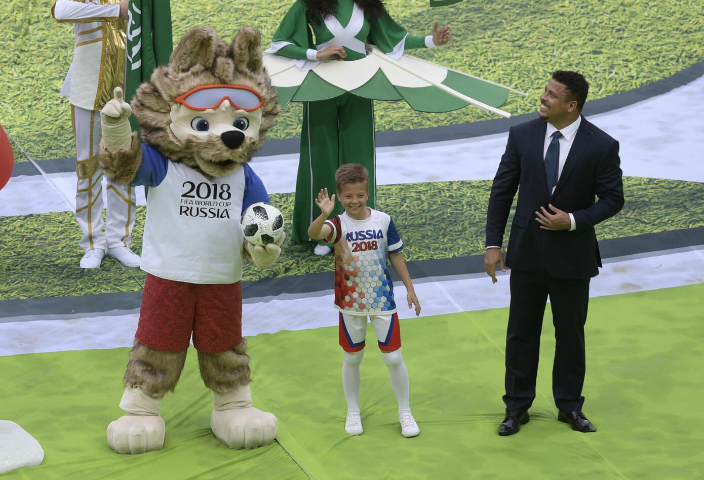 Así fue la inauguración del Mundial de fútbol Rusia 2018