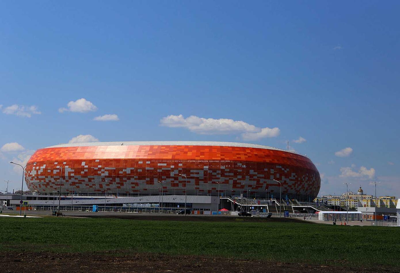 Mordovia Arena en Saransk