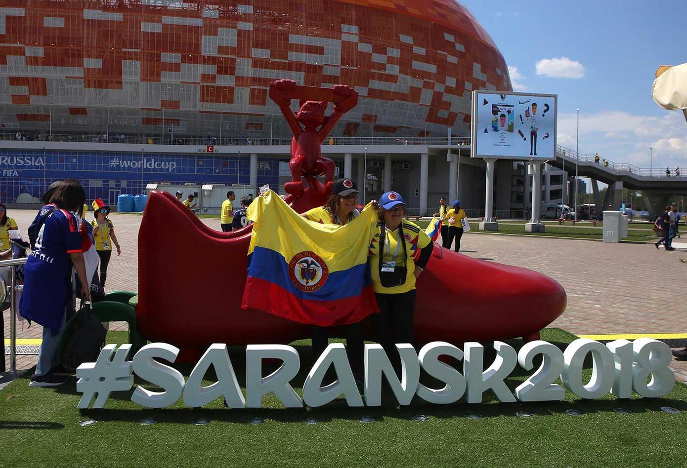 Colombianos en Saranks