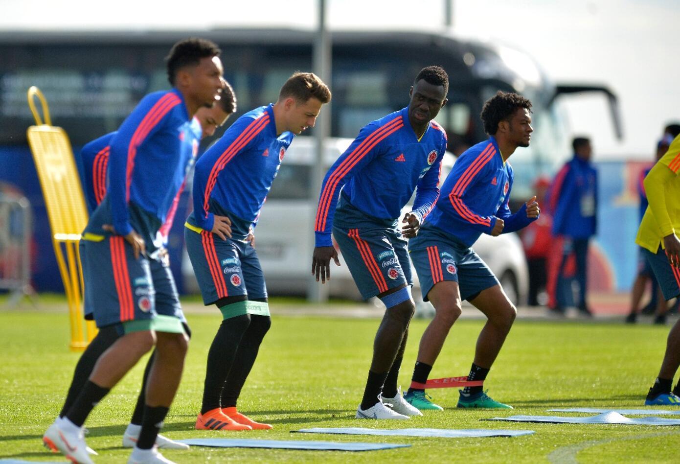 Entrenamientos de la Selección Colombia en Kazán