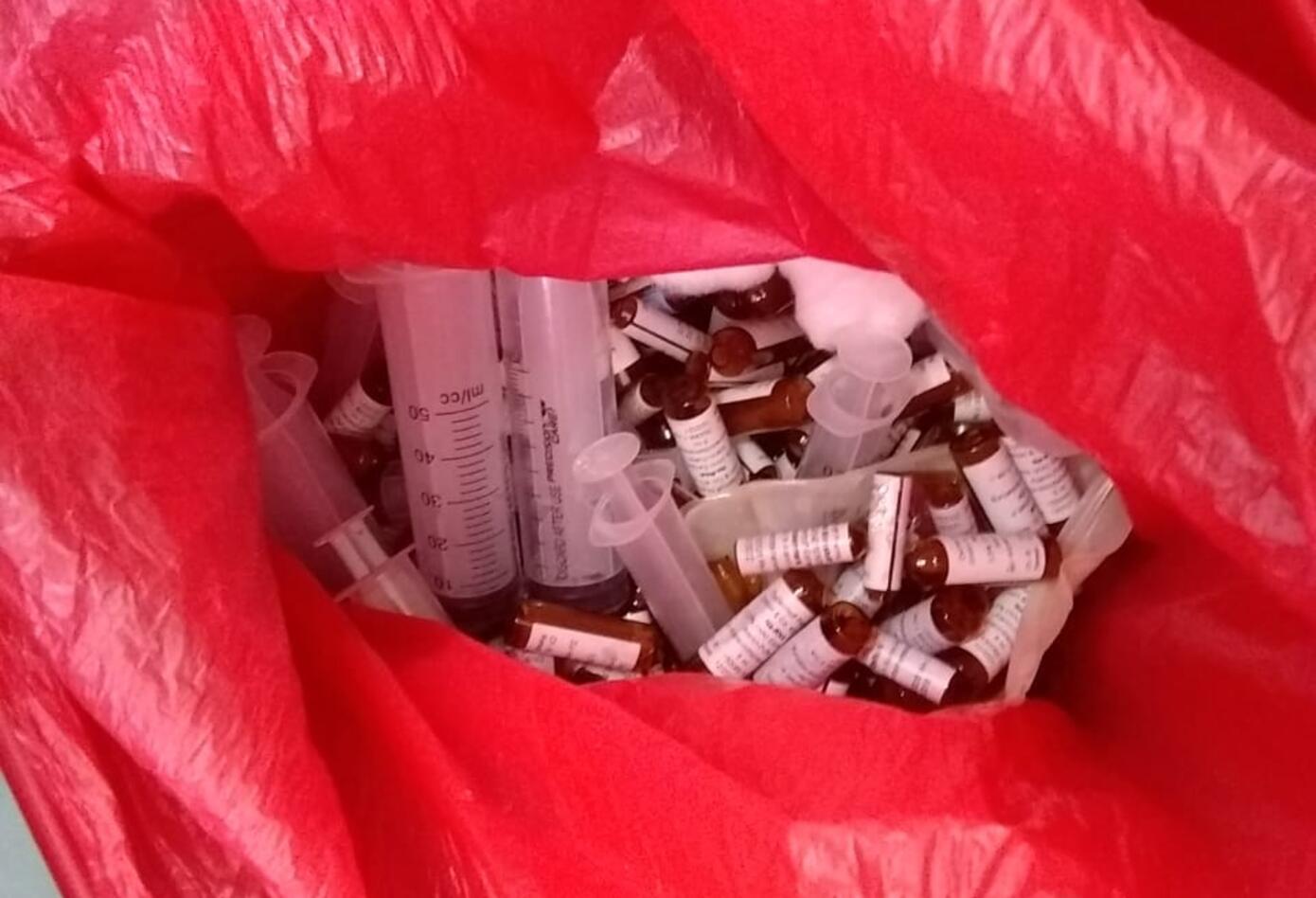 Los medicamentos fueron encontrados en Cali.
