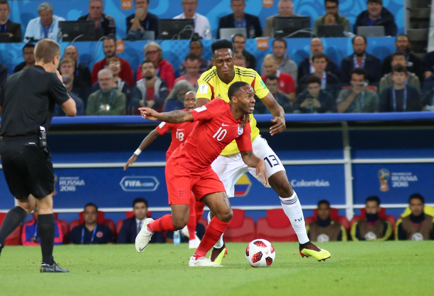 Colombia Inglaterra Rusia 2018 2