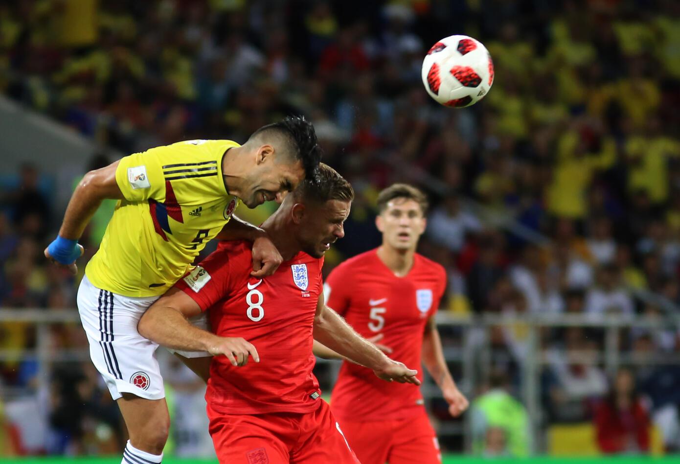 Colombia Inglaterra Rusia 2018 3