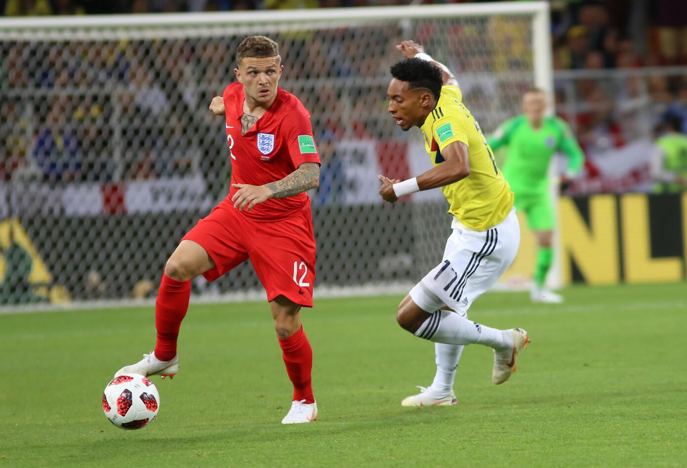 Colombia Inglaterra Rusia 2018 4