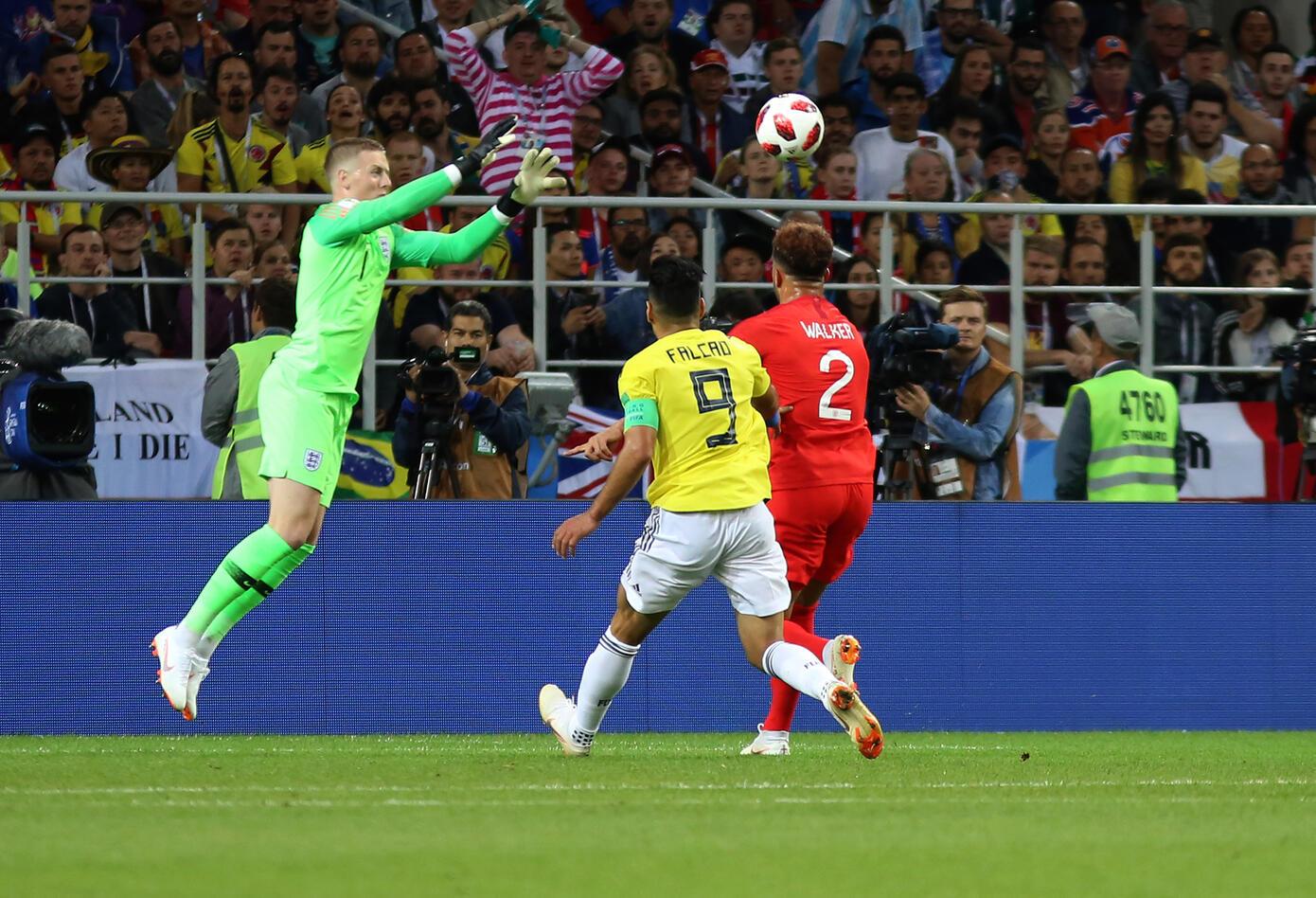 Colombia Inglaterra Rusia 2018 7