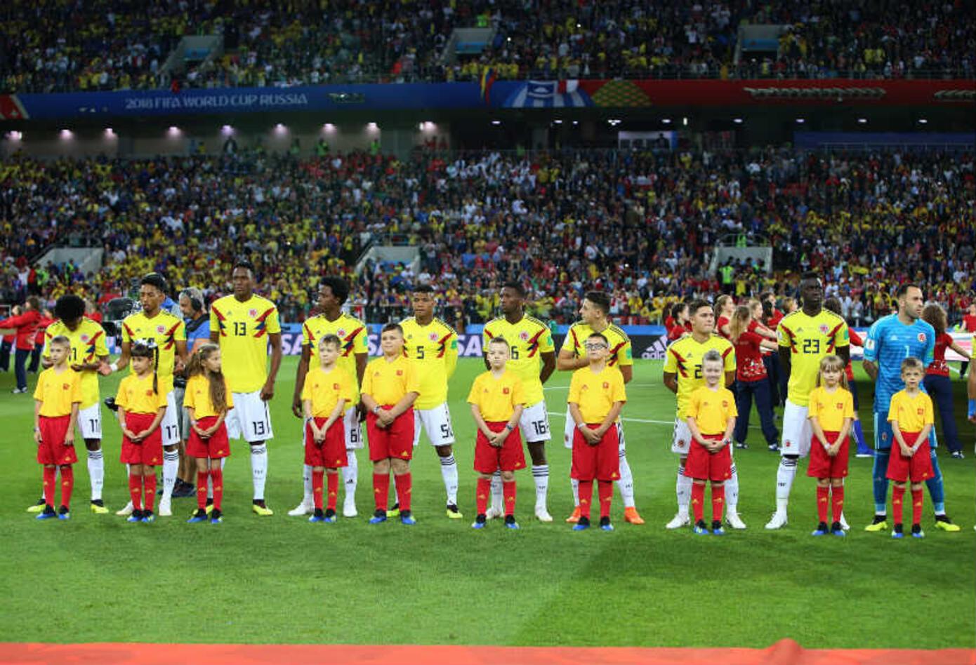Colombia perdió con Inglaterra
