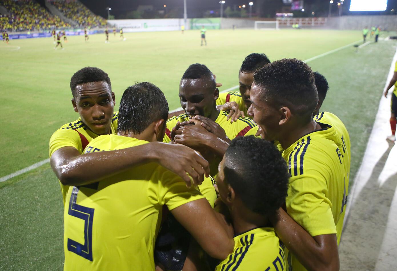 Colombia Vs. Venezuela en los Juegos Centroamericanos.