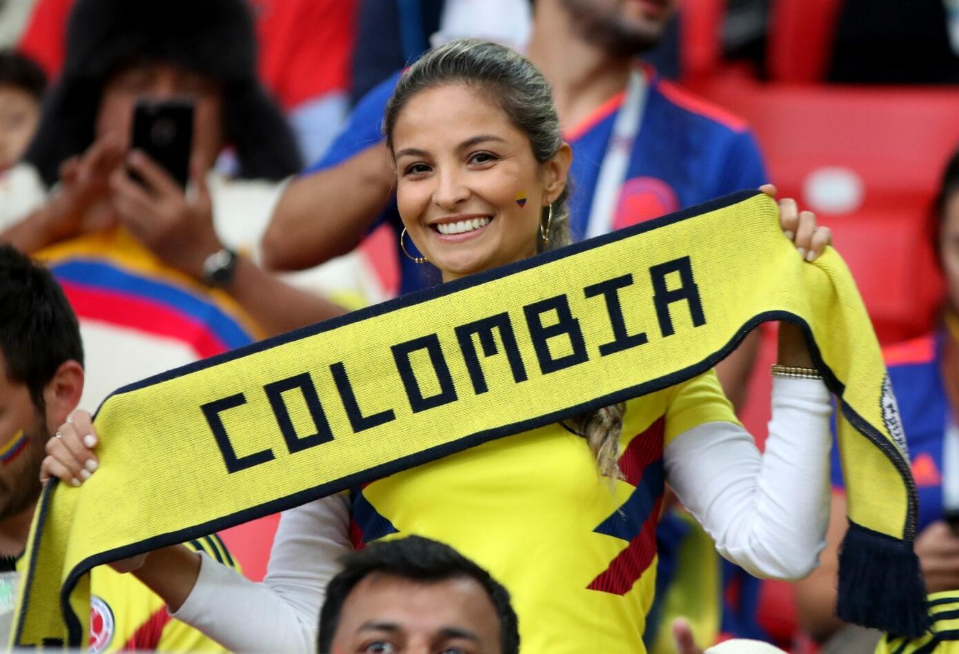 Hincha colombiana