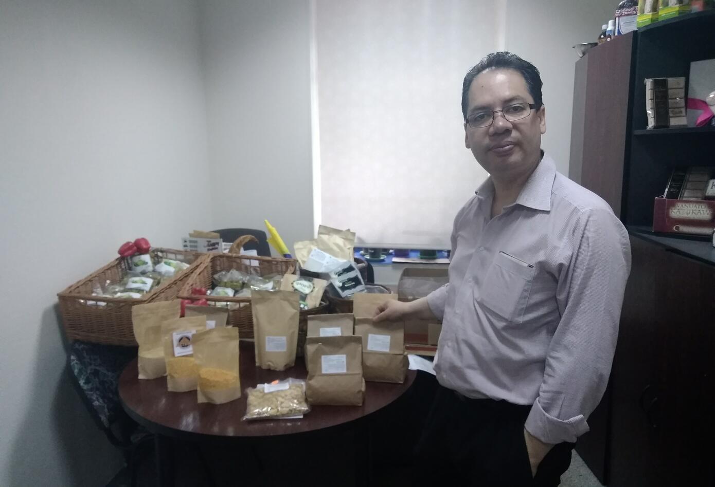 Comidas y flores colombianas que se venden en Rusia
