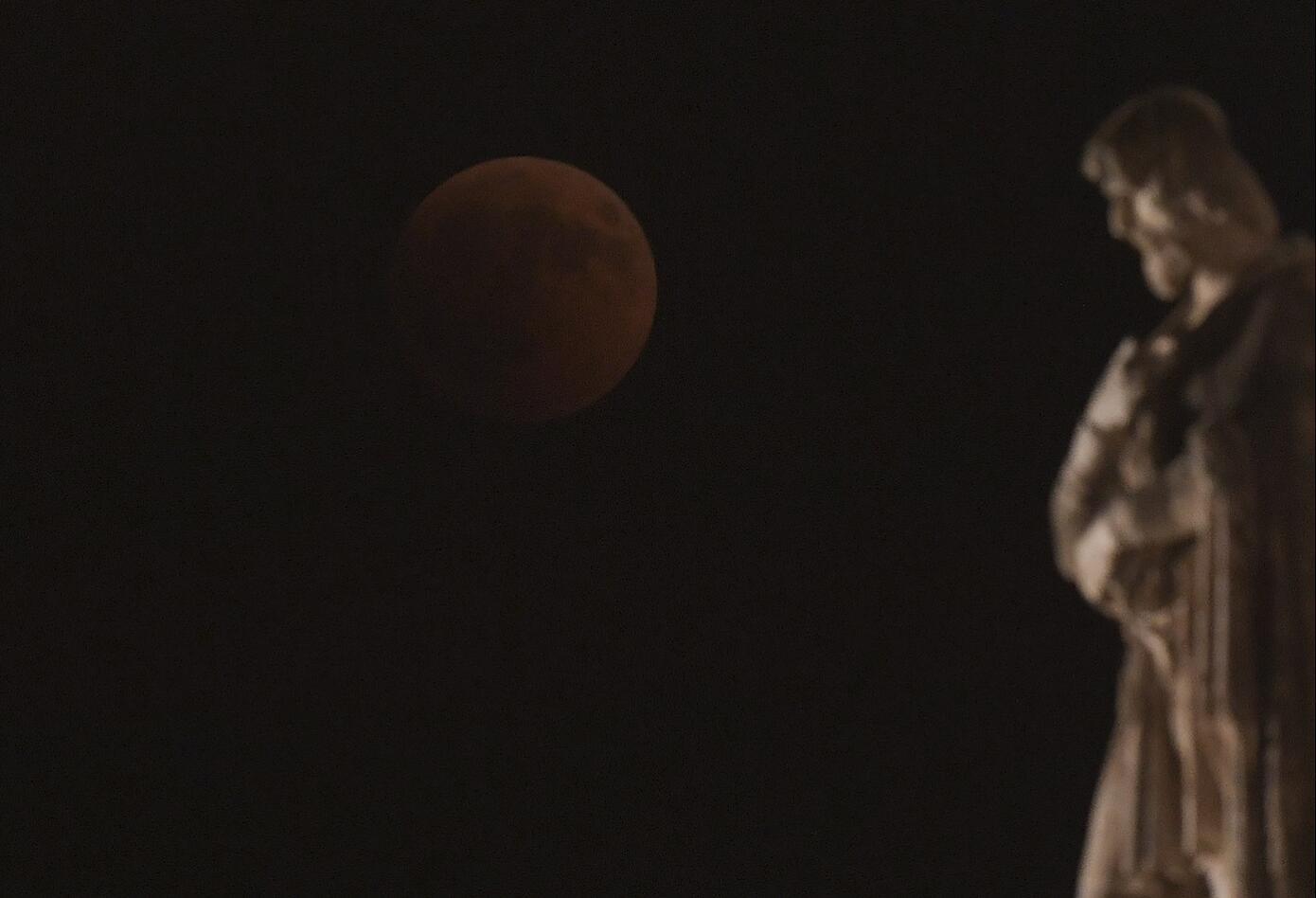 Eclipse en Roma, Italia