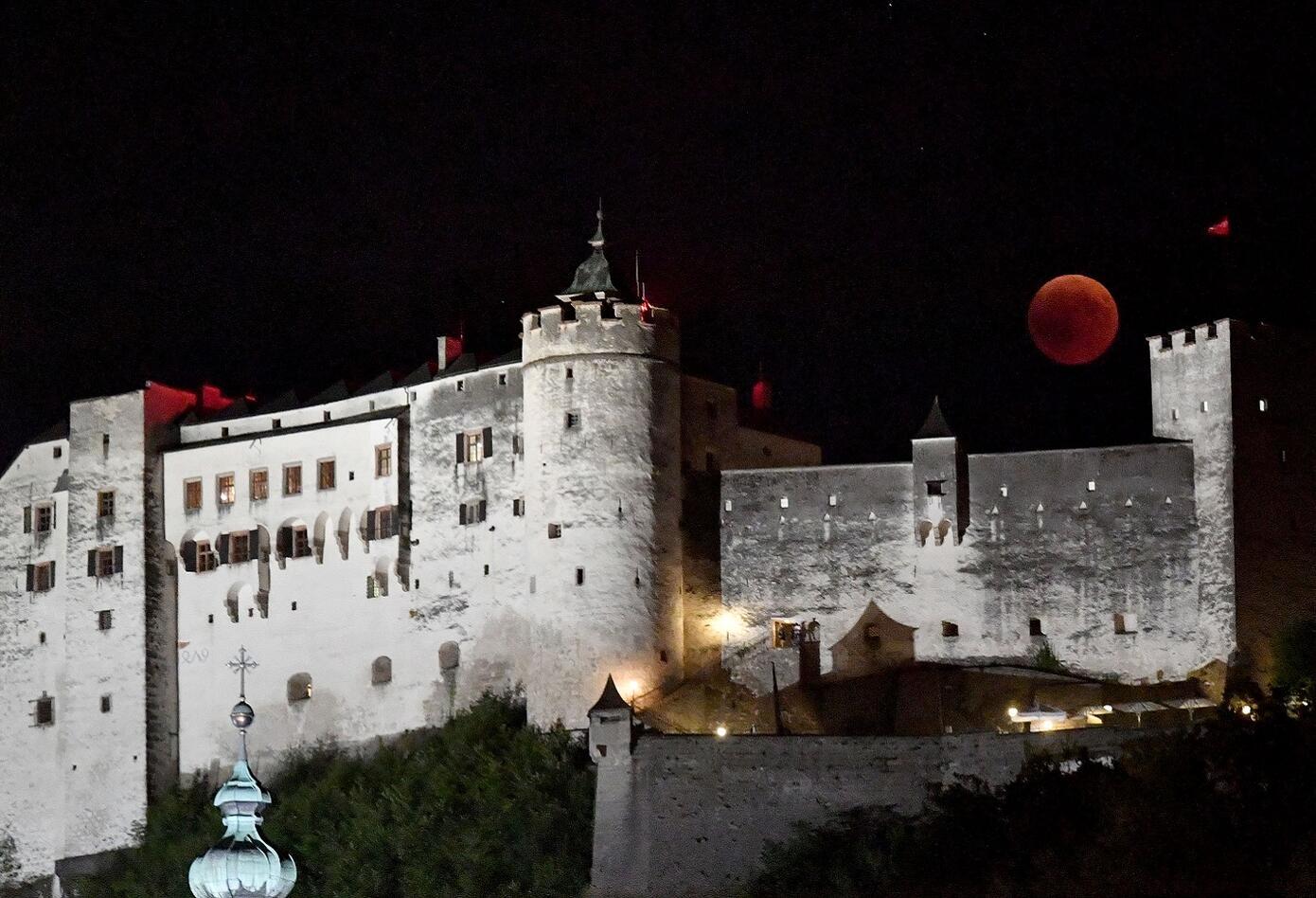 Eclipse en Salzburgo, Austria
