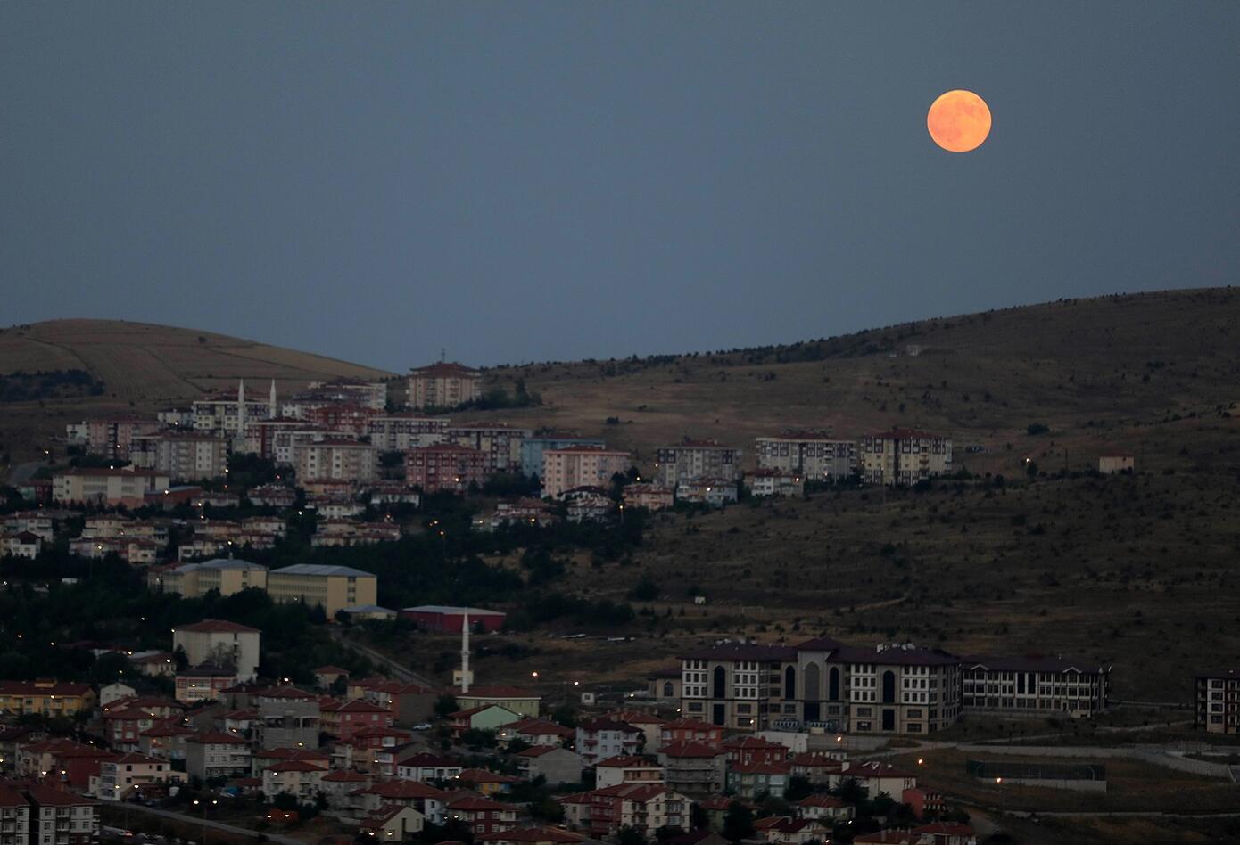 Eclipse en Yozgat, Turquía