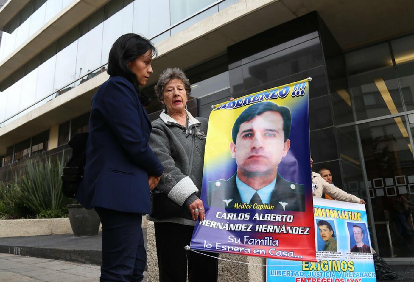 Las víctimas de las Farc acudieron a la cita de las Farc ante la JEP