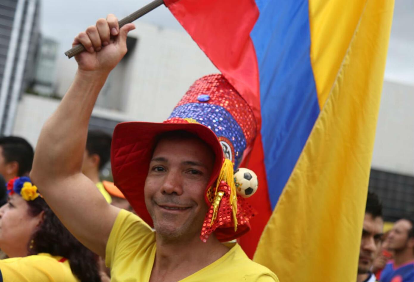 Hincha Colombia.