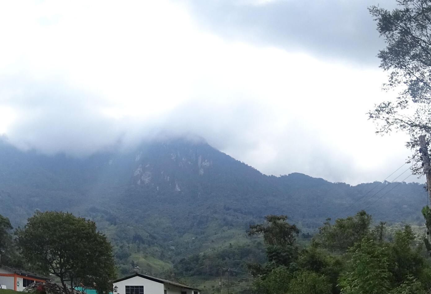 Montañas del Parque Nacional Natural Farallones de Cali.