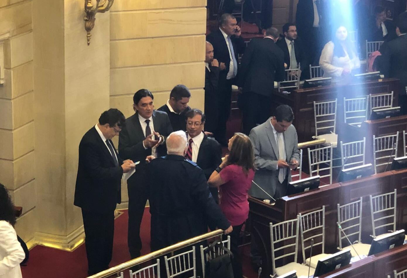 Gustavo Petro llegó al Senado tras ser derrotado en la segunda vuelta presidencial