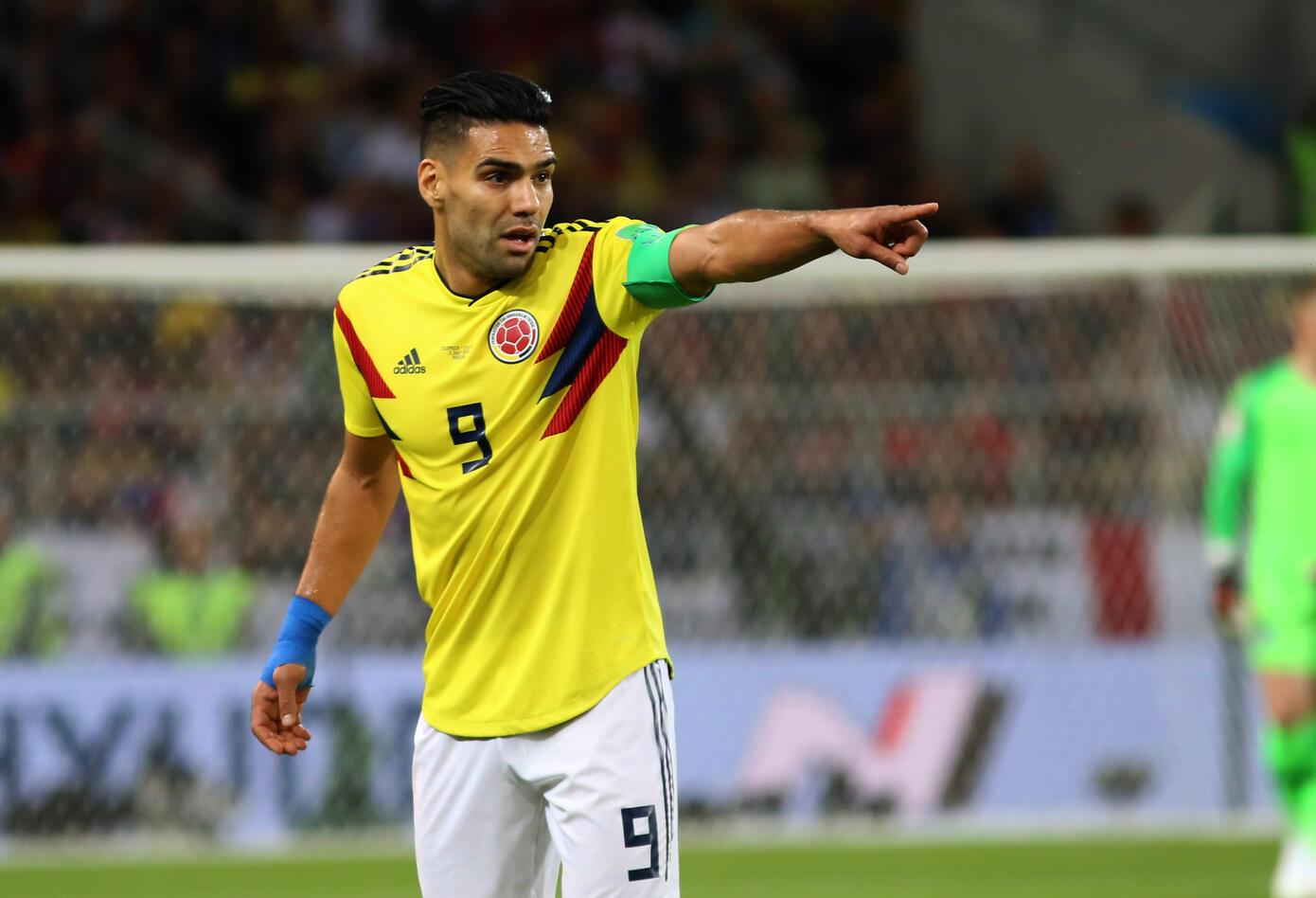 Radamel Falcao en Rusia 2018 con la Selección Colombia
