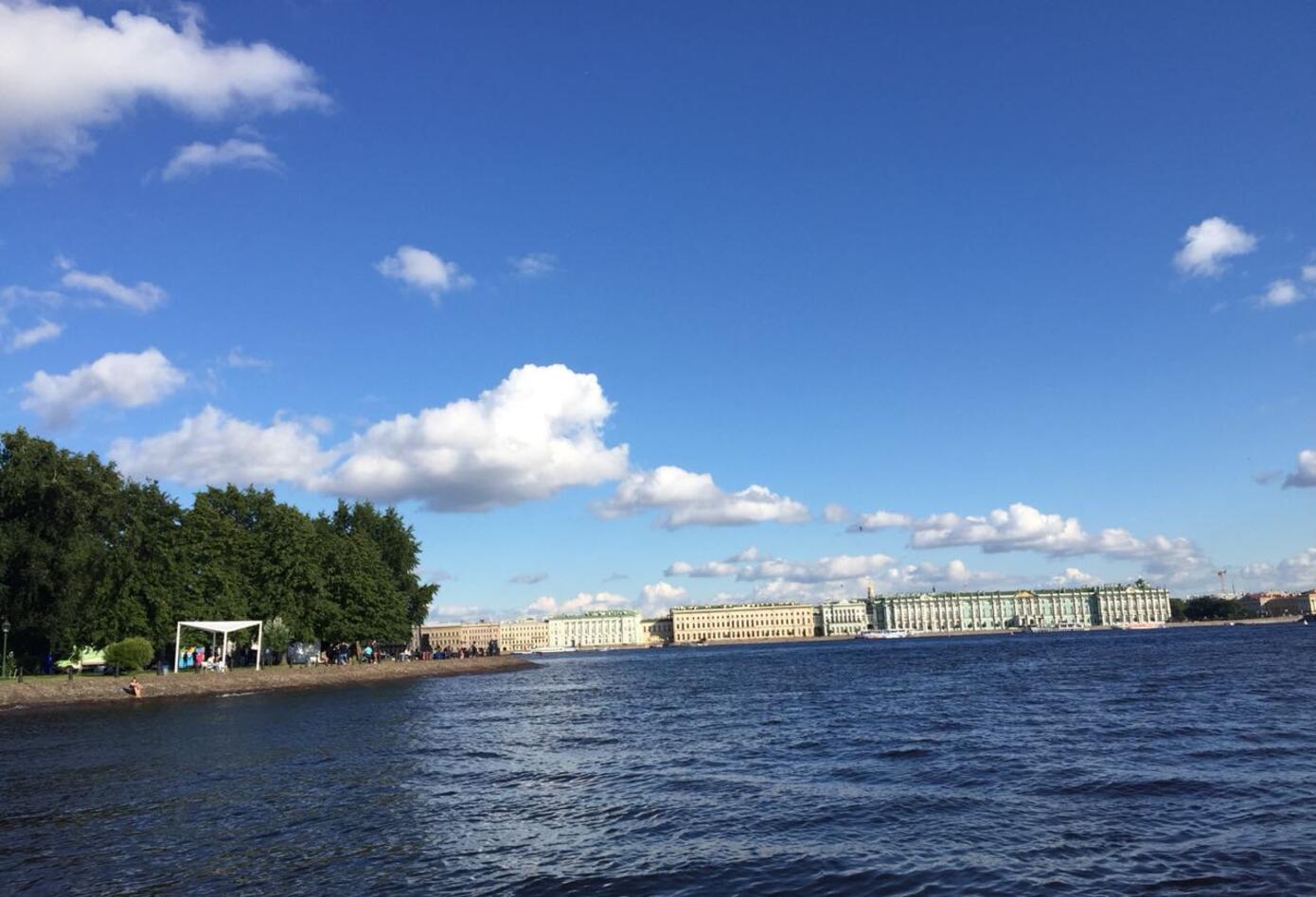 La ciudad rusa de San Petersburgo, a la que comparan con Venecia.