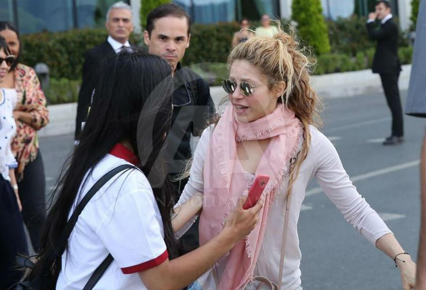 Shakira en Estambul