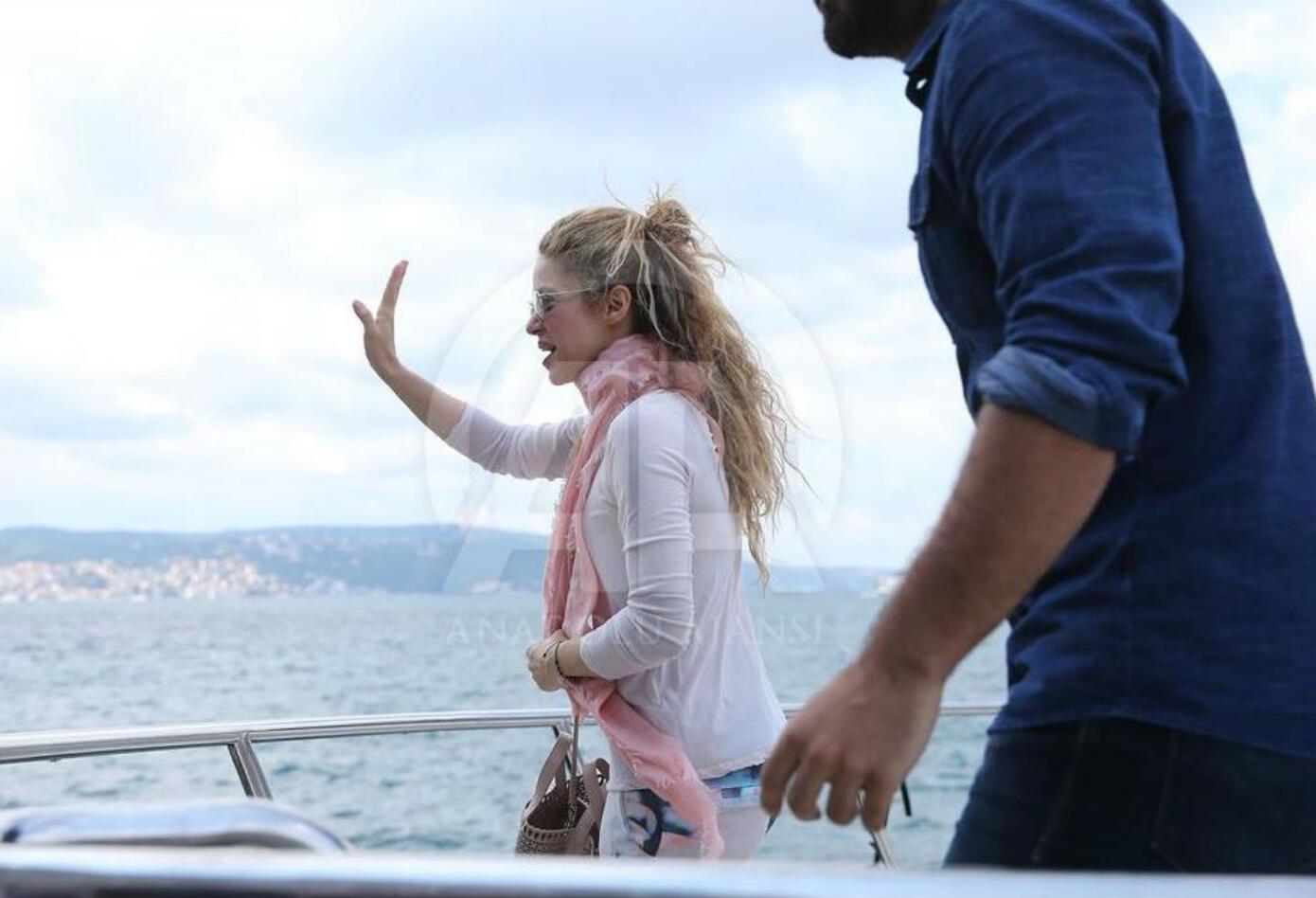 Shakira acaparó las miradas en Estambul