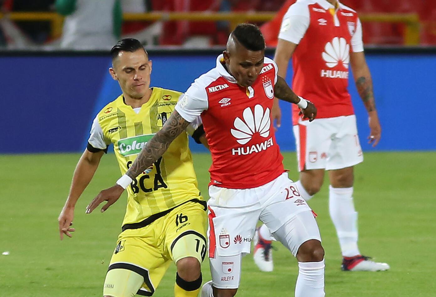 Independiente Santa Fe logró su primera victoria en la Liga Águila tras vencer a Alianza Petrolera