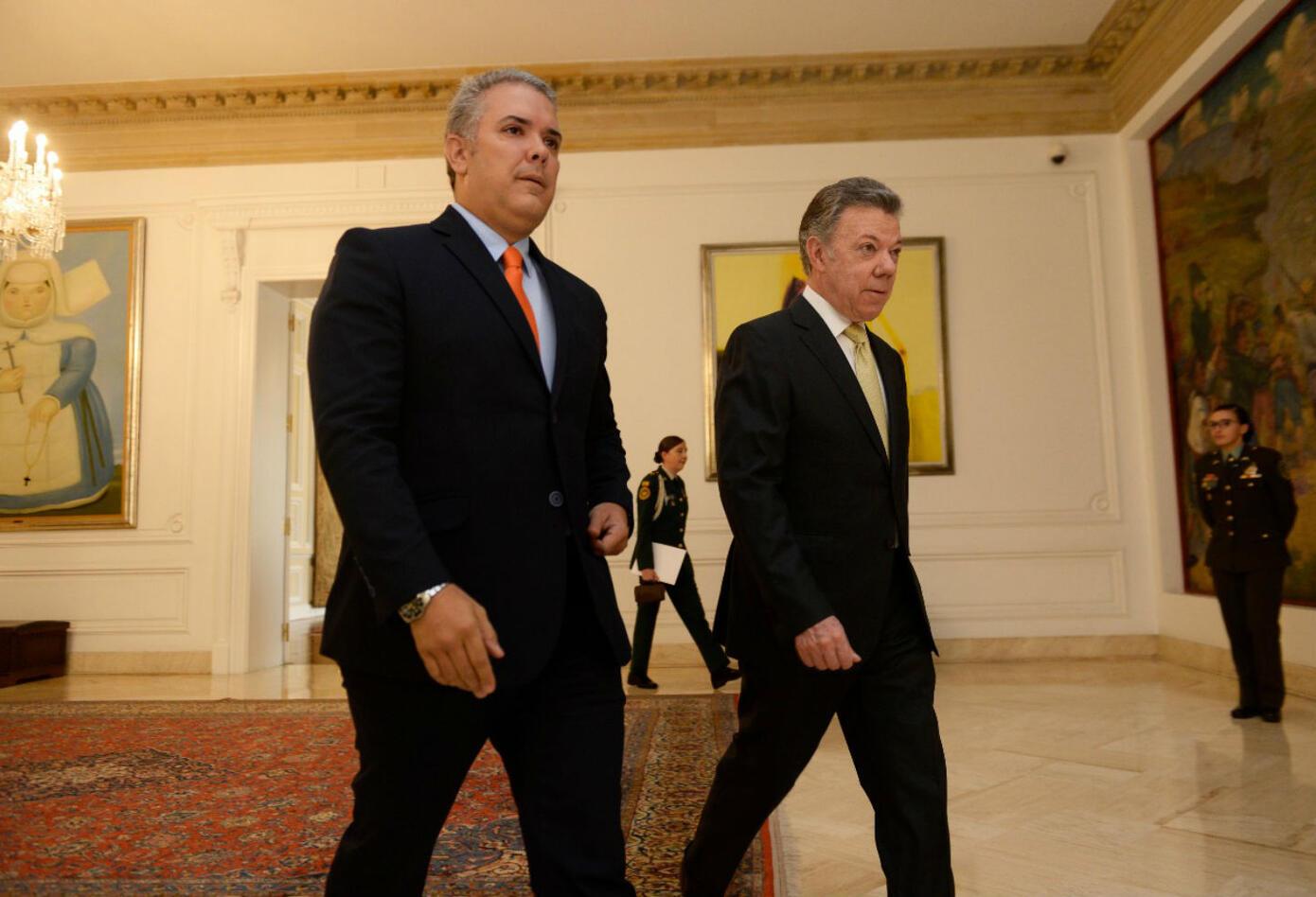 Iván Duque a partir del 7 de Agosto será el sucesor de Juan Manuel Santos en la Casa de Nariño