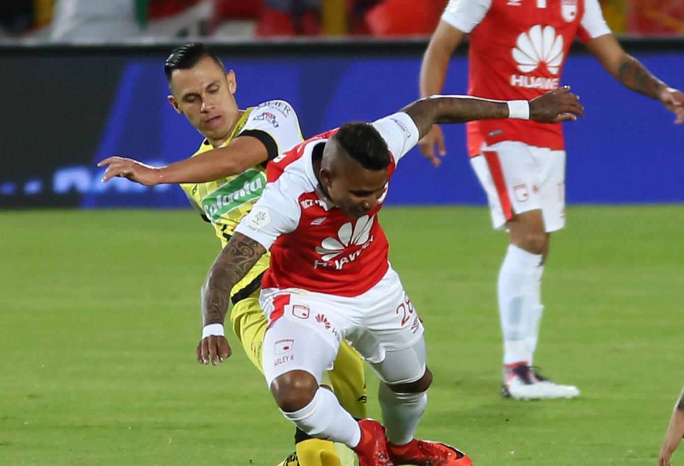 Independiente Santa Fe venció a Alianza Petrolera y logró su primer triunfo en la liga