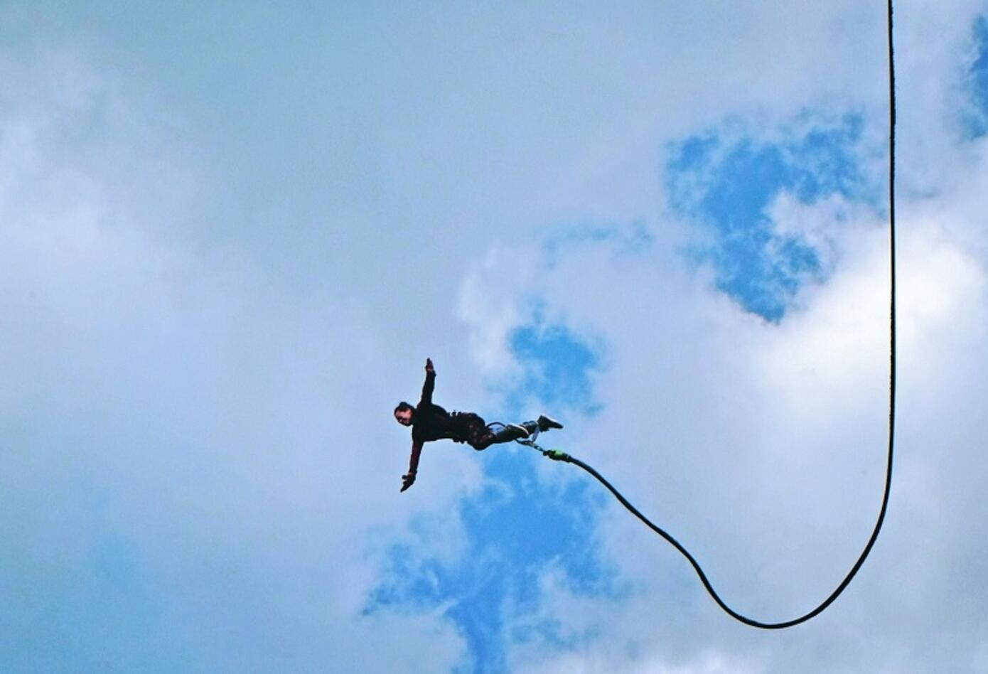 Bungee Jumping sobre el Río Fonce