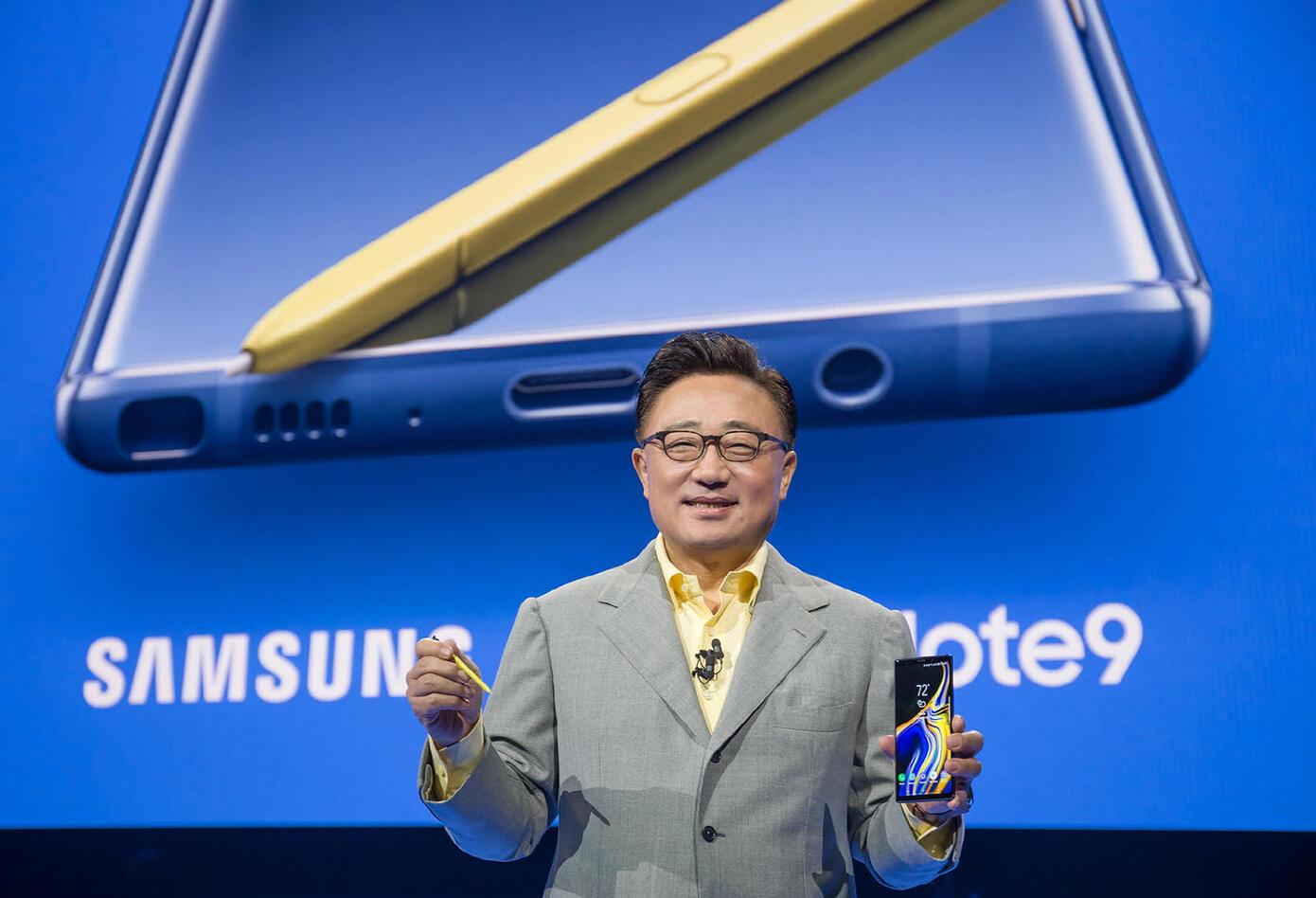 Presentación del Galaxy Note 9