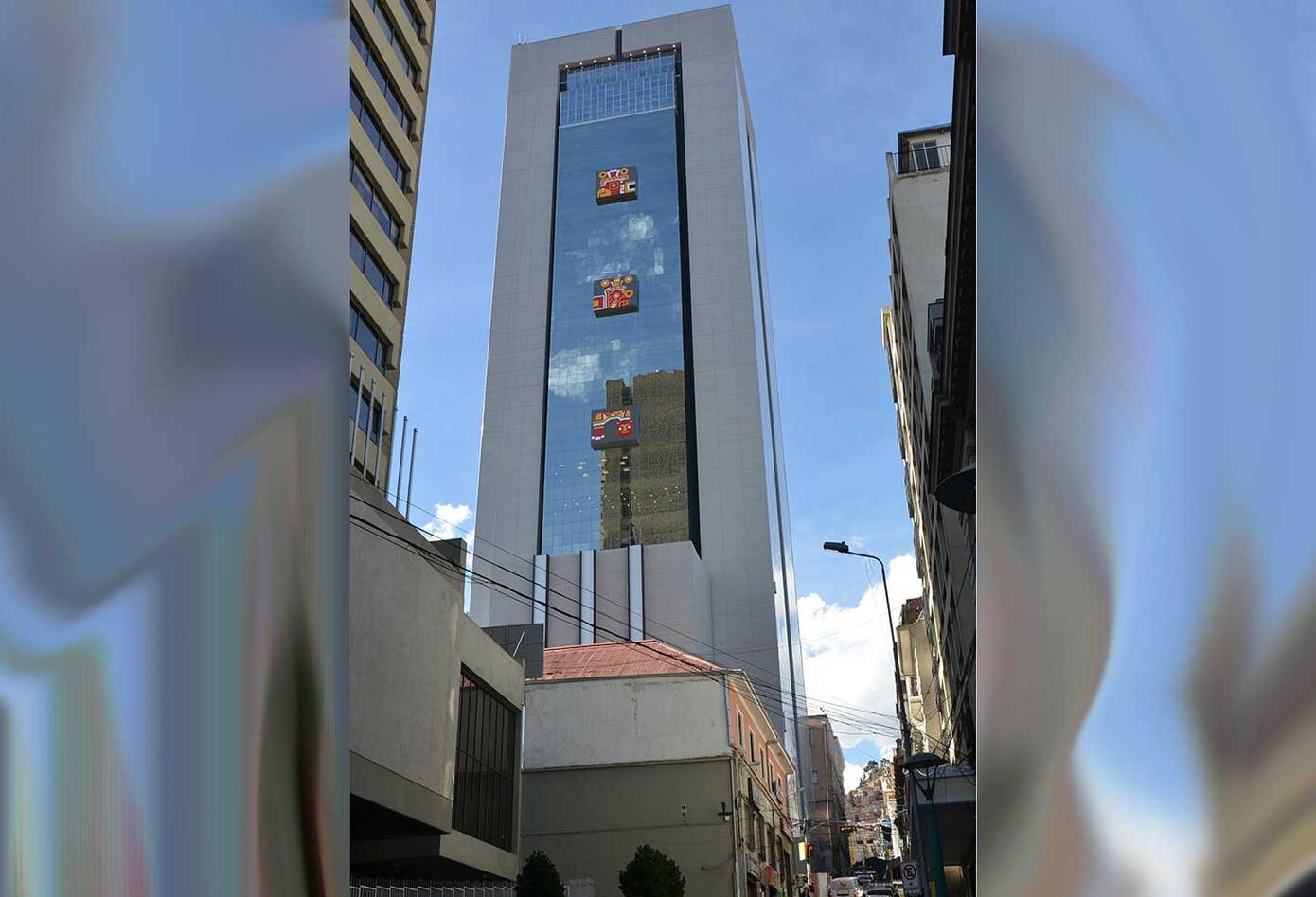 Lujos en el nuevo edificio de gobierno de Bolivia