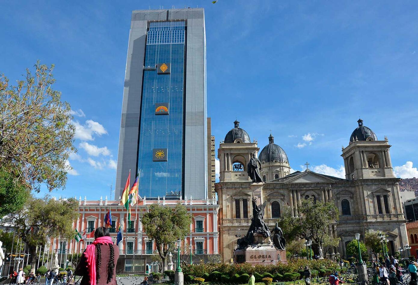 Bolivia tiene un nuevo edificio de gobierno